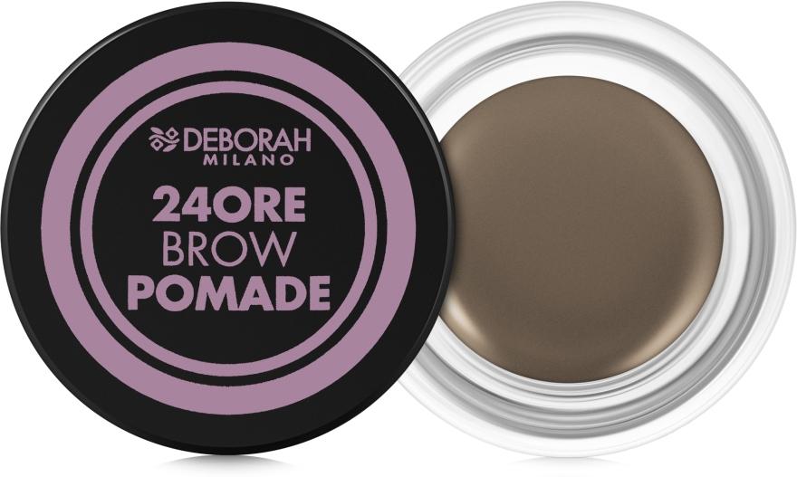 Помада для бровей - Deborah 24ore Brow Pomade