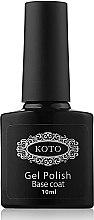 Духи, Парфюмерия, косметика Базовое покрытие для гель-лака - Koto Gel Polish Base Coat