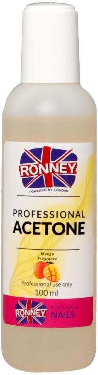 "Средство для снятия лака ""Манго"" - Ronney Professional Acetone Mango"