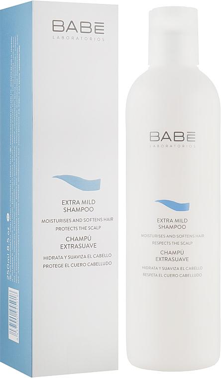 Мягкий шампунь для всех типов волос - Babe Laboratorios Extra Mild Shampoo