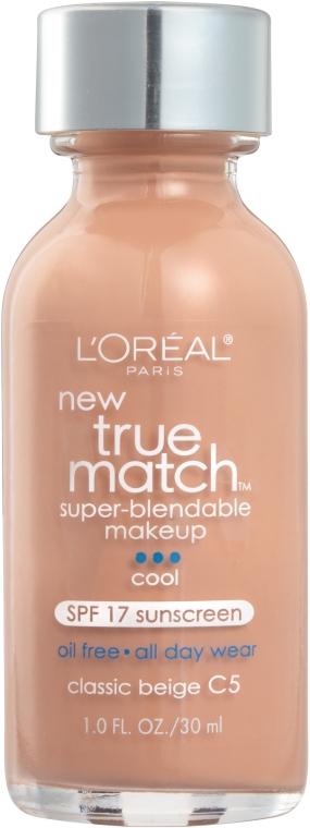 Тональный крем - L'Oreal Paris True Match Super Blendable Foundation
