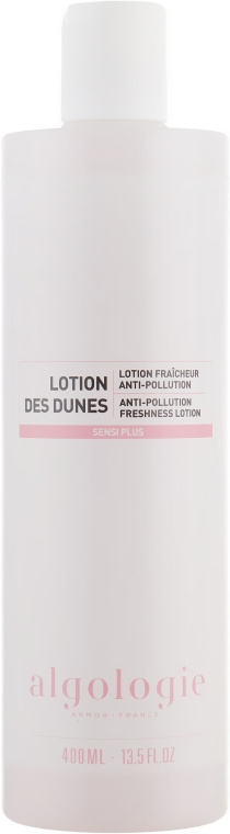 Освежающий лосьон для лица - Algologie Sensi Plus Anti-Pollution Freshness Lotion