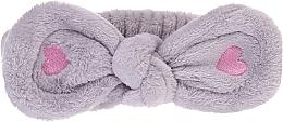 Духи, Парфюмерия, косметика Косметическая повязка для волос, серая - Lash Brow Cosmetic SPA Band