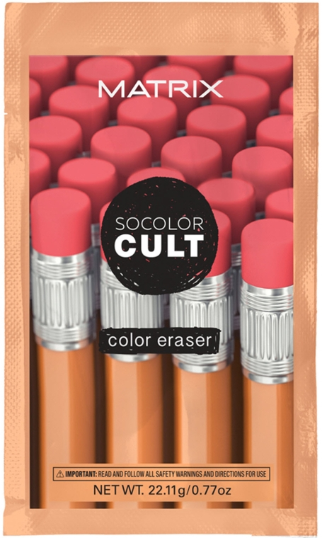 Средство для удаления краски с волос - Matrix SoColor Cult Color Eraser