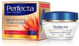 Духи, Парфюмерия, косметика Крем для лица ночной укрепляющий - Perfecta Age Control Strengthening Night Cream 40+