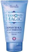 Духи, Парфюмерия, косметика Крем-пенка для умывания с бриллиантовой пылью - Floralis Diamond Magic Cream