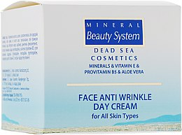 Духи, Парфюмерия, косметика Дневной крем для лица от морщин - Mineral Beauty System Face Anti Wrinkle Day cream