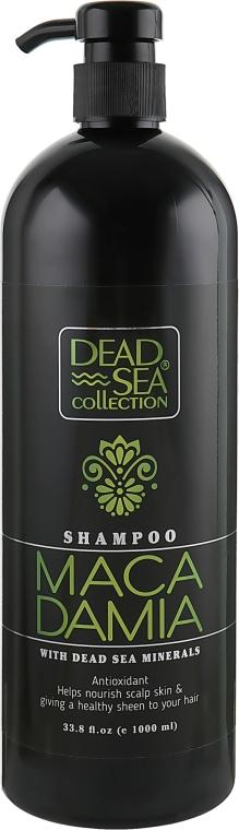 Шампунь с минералами Мертвого моря и маслом макадамии - Dead Sea Collection Macadamia Mineral Shampoo