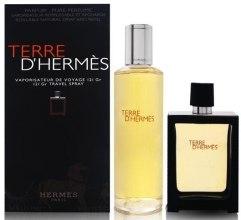 Духи, Парфюмерия, косметика Hermes Terre d'Hermes Parfum - Набор (edp/30ml + edp/125ml)