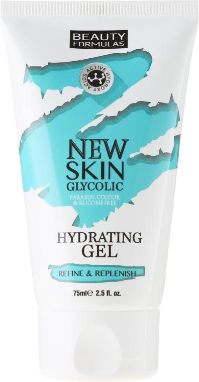 Увлажняющий гель для лица - Beauty Formulas New Skin Glycolic Hydrating Gel — фото N1