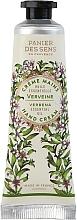 """Духи, Парфюмерия, косметика Крем для рук """"Вербена"""" - Panier Des Sens Verbena Hand Cream"""