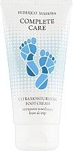 Парфумерія, косметика Ультразволожувальний крем для ніг - Federico Mahora Complete Care Ultra Moisturizing Foot Cream