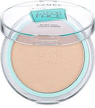 Духи, Парфюмерия, косметика Пудра компактная антибактериальная - Lamel Professional Clear Face Oh My Compact Powder