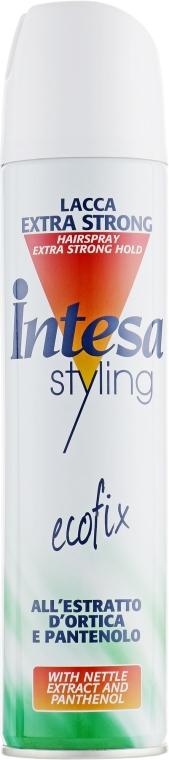 Лак для волос экстра сильной фиксации - Intesa Ecofix Styling Extra
