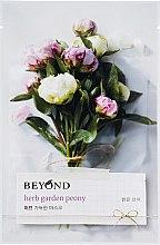"Маска ""Пион"" - Beyond Herb Garden Peony Mask — фото N1"