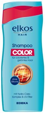 РАСПРОДАЖА Шампунь для окрашенных волос - Elkos Hair Shampoo Color *