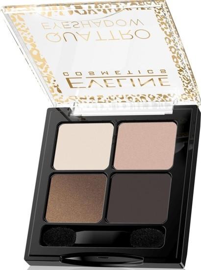 Тени для век - Eveline Cosmetics Quattro Eyeshadow