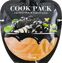 Духи, Парфюмерия, косметика Маска для лица - Ettang Cook Pack The Fresh Black Rubber Mask