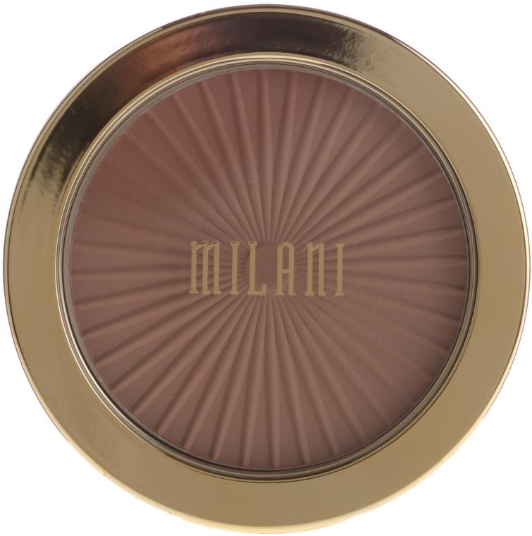 Бронзер для лица - Milani Silky Matte Bronzing Powder
