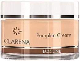 Духи, Парфюмерия, косметика Легкий увлажняющий крем с натуральным экстрактом тыквы - Clarena Eco Line Pumpkin Cream