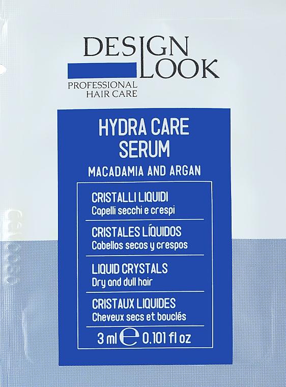 Увлажняющие жидкие кристаллы для сухих и хрупких волос - Design Look Hydra Care (саше)