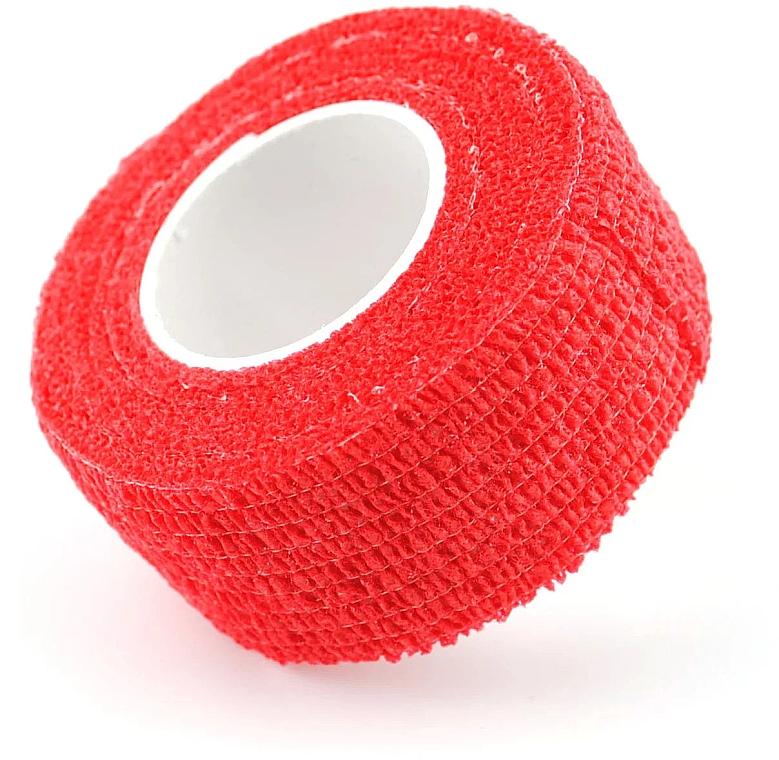 Бинт-защита для пальцев, красный - Nails Molekula