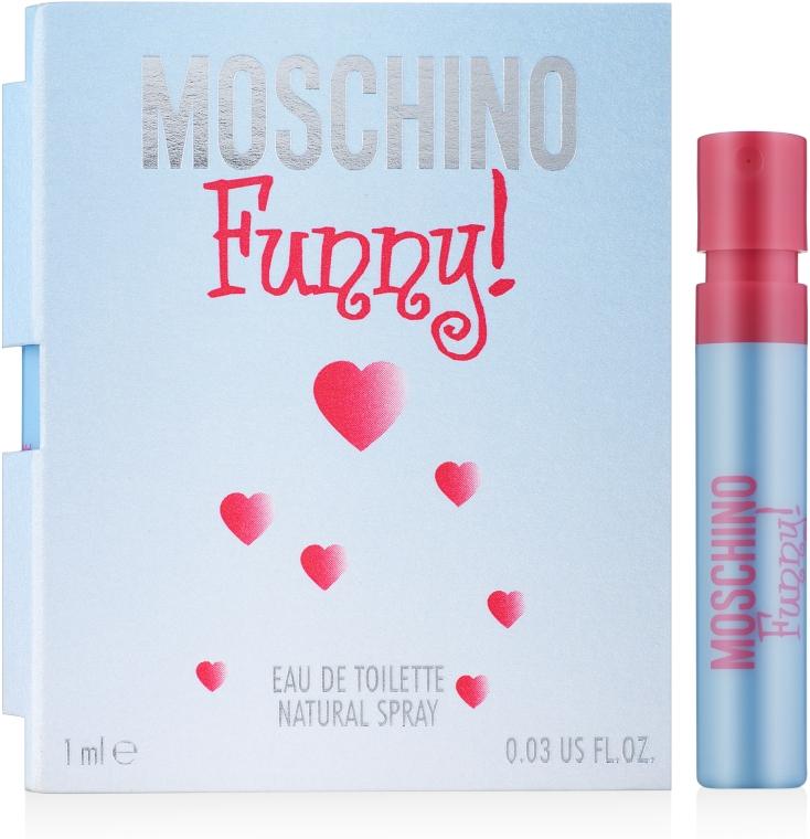 Moschino Funny - Туалетная вода (пробник)
