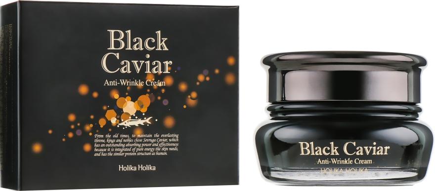 "Лифтинг крем ""Черная икра"" - Holika Holika Black Caviar Antiwrinkle Cream"