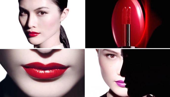 Жидкая помада-лак - Shiseido Lacquer Rouge