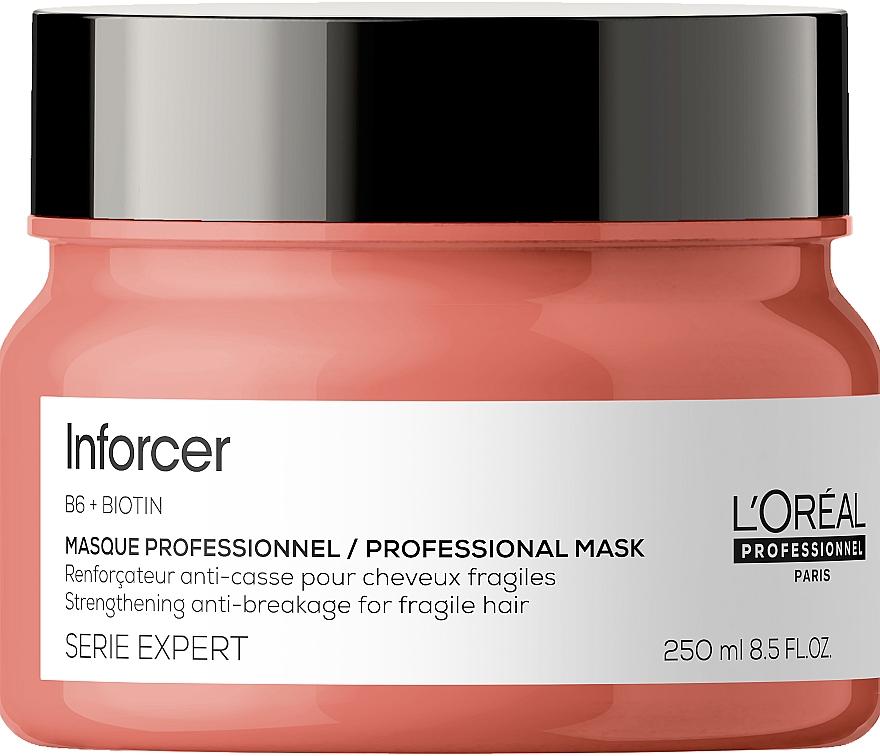 Укрепляющая маска против ломкости волос - L'Oreal Professionnel Serie Expert Inforcer Strengthening Anti-Breakage Masque
