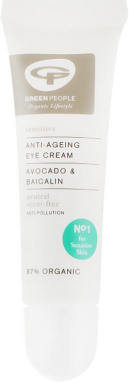 Крем для кожи вокруг глаз без запаха/нейтральный - Green People Neutral Scent Free Eye Cream