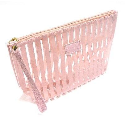 """Косметичка """"Прозрачная"""", B5108P, розовая - Natural Style — фото N1"""