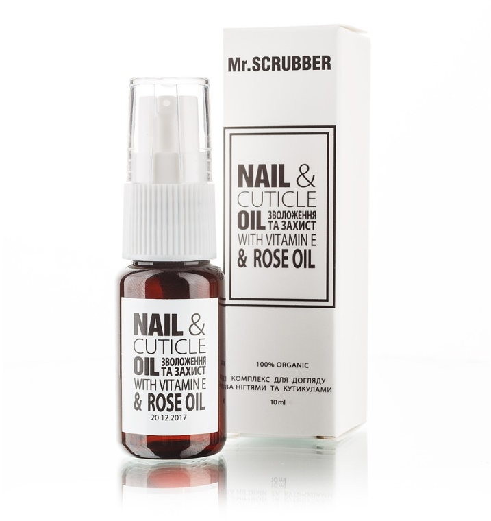 Комплекс для ухода за ногтями и кутикулами - Mr.Scrubber Nail & Cuticle Oil Complex