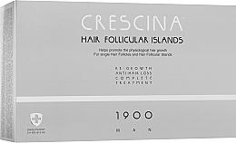 Духи, Парфюмерия, косметика Комплекс для лечения выпадения волос для мужчин - Crescina Hair Follicular Island Re-Growth+Anti-Hair Loss 1900 Man