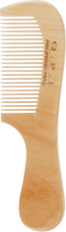 Гребень для волос, деревянный, DG-0024 - QPI