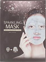Духи, Парфюмерия, косметика Маска тканевая очищающая с активированным углем - Shangpree Sparkling Mask
