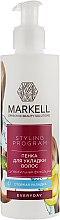 """Парфумерія, косметика Пінка для укладки волосся """"Суперсильна фіксація"""" - Markell Cosmetics Styling Program"""