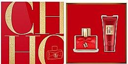 Парфумерія, косметика Carolina Herrera CH Privee - Набір (edp/80ml + b/lot/100ml)