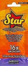 "Духи, Парфюмерия, косметика Крем с эффектом автозагара ""Star"" - SolBianca Advance Star 16x Bronzer"