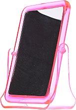 Духи, Парфюмерия, косметика Зеркальце косметическое квадратное, 5299, розовое - Top Choice