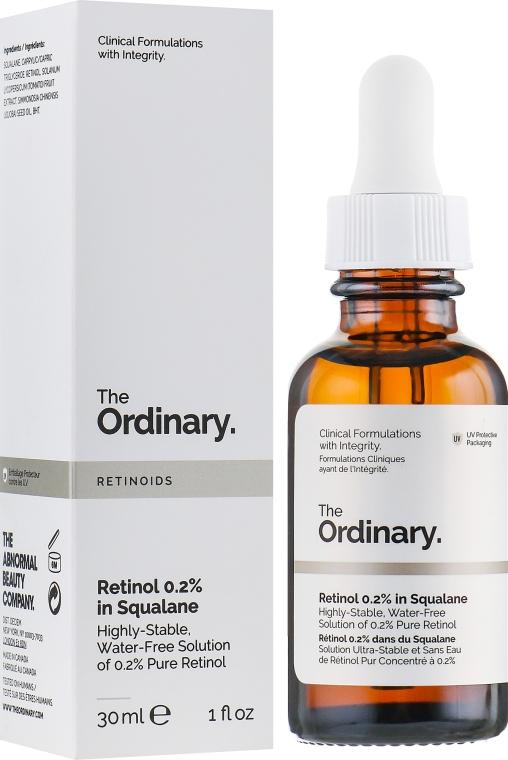 Сыворотка с ретинолом 0,2% в Сквалане - The Ordinary Retinol 0,2% in Squalane