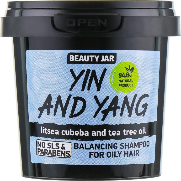 """Шампунь для жирных волос """"Yin and Yang"""" - Beauty Jar Shampoo For Oily Hair"""