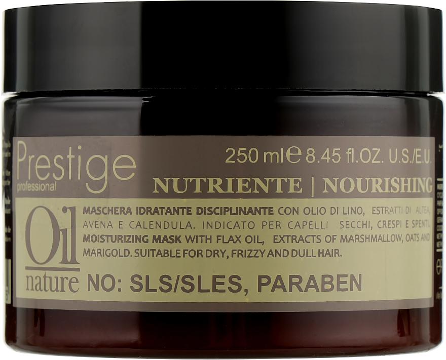Восстанавливающая маска для сухих и поврежденных волос - Erreelle Italia Prestige Oil Nature Nourishing Mask