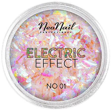 Блестки для дизайна ногтей - NeoNail Professional Electric Effect Flakes