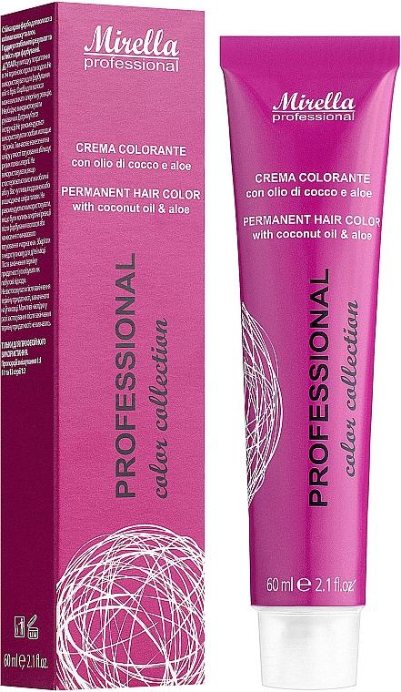 Стойкая краска для волос - Mirella Professional