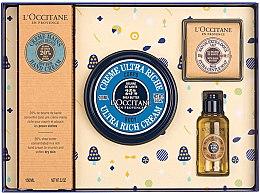 Духи, Парфюмерия, косметика Набор - L'Occitane Karite (h/cr/150ml + b/cr/100ml + sh/oil/35ml + soap/50g)
