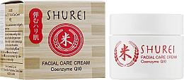 Духи, Парфюмерия, косметика Защитный крем для лица с коэнзимом - Shurei Facial Care Cream Coenzyme Q10