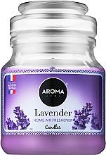 Парфумерія, косметика Aroma Home Basic Lavender - Ароматична свічка