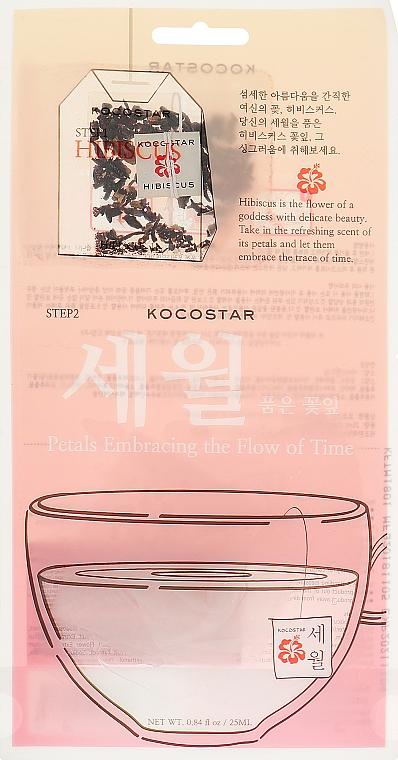 Детокс-маска с гибискусом - Kocostar Petals Embracing the Flow of Time