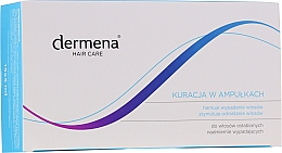 Духи, Парфюмерия, косметика Ампулы против выпадения волос, для женщин - Dermena Hair Care Ampoules Against Hair Loss